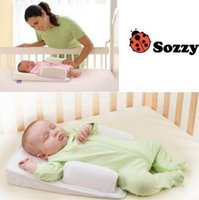 Wholesale DHL New born Baby Pillow Sozzy Anti roll Baby Sleep Positioner Newborn Toddler Pillow