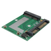 Wholesale High Quality mSATA SSD to SATA Gps Adapter Converter Riser Card Module Board Pad Pcie DIY Electronic Assembly Parts