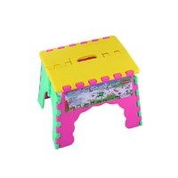 plastic stool chair - Portable Outdoor sports Child Kids Folding Camping Picnic Step Stool Plastic Foldable Chair Gift for Kid
