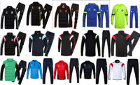 chelsea - Cheap Top Thai Quality Real Madrid training suits chandal Chelsea AC Milan Borussia Dortmund tracksuit jacket pants