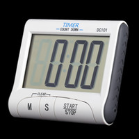 Wholesale LCD Digital Kitchen Timer Countdown Cooking Timer Count Down Alarm Clock