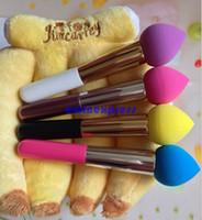 Wholesale Hot Sale Liquid Cream Foundation Concealer Pointed Makeup Sponge Blender Brush Foam Applicator With Vitamin E