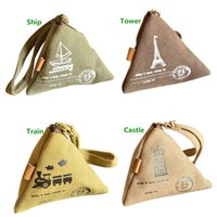 $10 handbags - New Arrivals Triangle Wallets Change Coin Purses Pouch Handbag Canvas Mini Fashion Cute Size CM BX216