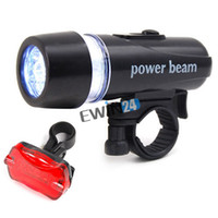 Wholesale Ultra Bright Cycling Bicycle Waterproof LED Front Head Light Rear Flashlight EWIN24 hot sale high quality