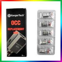 Wholesale kanger tech coils Kanger OCC OCC Coil ohm fit Kangertech Subtank VS arctic coils Nautilus Coils smok tfv4 coils