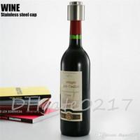Wholesale Hot Sale Stainless Steel Vacuum Sealed Red Wine Bottle Spout Liquor Flow Stopper Pour Cap