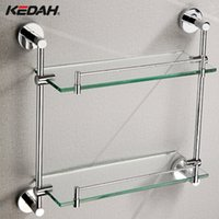 Wholesale Factory direct fine copper double to the fence shelving racks Cody H614 hotel home