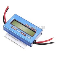 Wholesale New Digital LCD For DC V A Balance Voltage RC Battery Power Analyzer Watt Meter order lt no track