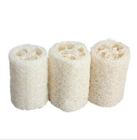 bath and body brushes - 2015 New Mignon Natural Loofah Luffa Loofa Bath Shower Sponge Spa and Body Scrubber