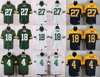 packers jersey - NEW Eddie Lacy Randall Cobb Brett Favre Stitched Packers Jerseys Cheap Size M XXXL discount football jerseys Elite Embroidery