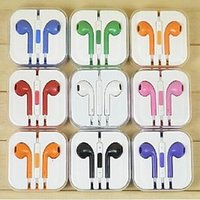 Wholesale 3 MM Multi Style Painting Earphone In Ear Headphone fone de ouvido Wire With Mic Headset For iphone S samsung auricular