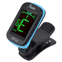 acoustic electric ukulele - Rowin LT Acoustic Guitar Tuner Clip On Automatic Digital Electronic LCD for Electric Bass Chromatic Violin Ukulele DHL I1571