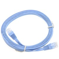 Wholesale 2m Cat6 Flat Ethernet Patch Network Lan Cable RJ45 C1037 DHL freeshipping