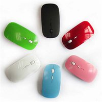 Wholesale Universal Wireless Mouse G colorful Ultra Thin Optical for Laptop Desktop Notebook USB Adapter Mouse Keyboard DHL