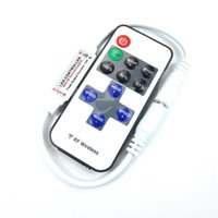 Wholesale Led Dimmer Mini Controller Wireless RF Remote Controller Hot Sale for Single Color Strip Light keys DHL
