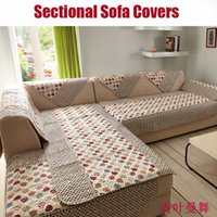 sectional sofa - leaves plain dyed sectional couch sofas covers slipcovers on the sofa plaid home decoration vintage couch cover