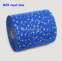 Wholesale kids clothing fabric quot yards tulle spool with shining laser glitter