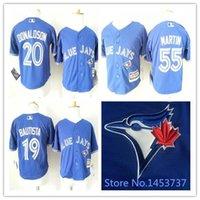 baby blue jays - 30 Teams Toronto Blue Jays Infant Jerseys Jose Bautista Baby Jersey Josh Donaldson Russell Martin Toddler Baseball Jerseys