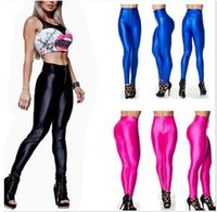 spandex leggings - Women leggings with zipper light color fashion stretch ninth pants large spriing and autumn leggings deodorant spandex leggings FREE SHIP
