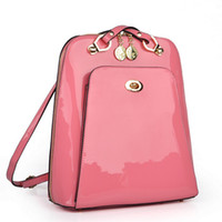 backpacks stores - Aenlly Store Hot Sale Women Cute Backpack Women Colorful Bags Backpacks Lady s Patent Leather bag WY0033