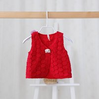 baby flower girl ideas - Idea Spring New Baby Girl Waistcoat Kids Lace Embroidery Fashion Vests Y