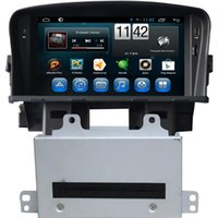 Wholesale Cruze Dash - Android Car DVD Players Bluetooth Car DVD Players Fit for Chevrolet Cruze 7 Inch Touch Screen 2DIN Enclosure Design Sale 7016A