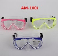 Wholesale Good Quality Waterproof Children Soft Silicone Swim Diving Mask