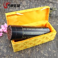 antique carvings - Ancient antique bamboo carvings of calligraphy teacher characteristics graduation gift to send foreigners with Chinese character