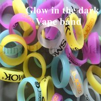 band insurance - New products credit insurance rubber anti skidding mixed color smoke logo silicone glow vape band