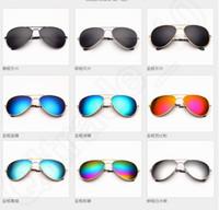 aviator eye glasses - 9 design Polarized Sunglasses Yurt Driving Aviator Outdoor Eyewear cool Glasses classic yurt eye color film solar LJJK61