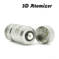 Cheap High quality 3d dripper atomizer mod clone stainless steel 3d dripping rebuildable tank ecig fit hades 26650 panzer Turtle ship e cig DHL