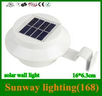 solar garden light - Solar Lights for garden solar led wall lighting outdoor Automatic light Solar roof lamp IP55 leds DHL
