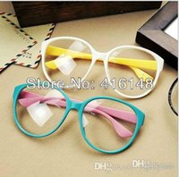 Wholesale Candy round eyeglasses spectacle eyeglasses frame glasses for female