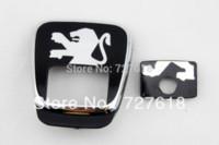 Wholesale BOOTH LOGO FOR PEUGEOT Rear Gate Luck Emblems M18514 logo emblem logo design ideas free