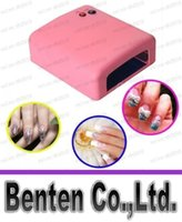 artistic gel - HOT Sale V W Artistic UV LED Lamp Light Nail Dryer Gel Curing With Timer White Pink LLFA4329F