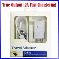plug-in - 2 in Charger Kits USB Cable A US EU Plug Wall Charger Fast Charging For Samsung Galaxy S4 I9500 Galaxy Note2