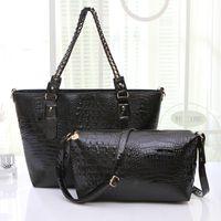 bags handbags pures - New Crocodile women leather handbag desginer pures cross body women messenger bags desiual bag