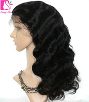 beauty banking - Hot beauty Lace Wig Unprocessed Virgin Glueless Full Lace Wig Indian Body Wave Full Lace Human Hair Wigs For Black Women