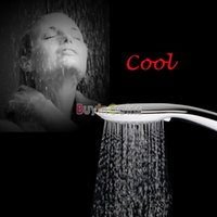 Wholesale US Stock New Color LED Shower Head Lights Water Home Bath Chuveiro US AS