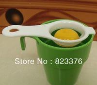 Wholesale DHL Egg Separator Holder Sieve Funny Divider Breakfast Tool Spoon