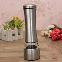 Wholesale 2015 High Quality Newest Stainless Steel Manual Salt and Pepper Mill Grinder For Cooking Kitchen