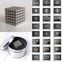 ball magnets - 216 x mm Magic Magnet Magnetic DIY Balls Sphere Neodymium Cube
