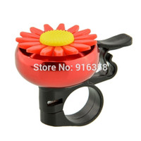 Wholesale Cuty Flower Bike Bicycle Cycling Handlebar Ring Horn Sound Bell Alarm