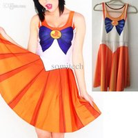 Wholesale New Arrival Colors Anime Sexy sailor moon cosplay sexy costume Cartoon Movie Cosplay Halloween Costumes For Women