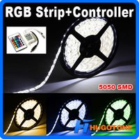 Wholesale Christmas SMD RGB LED Strip String Light M Roll LED Lights White Warm White Cool White Red Green Blue Yellow CE RoHS UL CSA