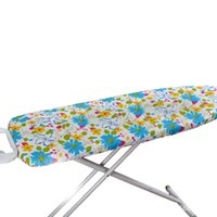 Wholesale Europe style promotional polyester material printed heat proof resistant ironing board cover