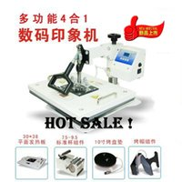 label printing machine - Smart Advanced Clothe Printing Hat Image transfer Tshirt Heat Press Combo All In One CE Mug DIY Press Machine Etc