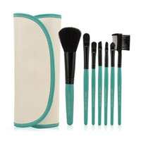 Wholesale akeup Tools Accessories Makeup Brushes Tools Set BlueCoral Eyeshadow Foundation Powder Eyebrow Eyeliner Makeup Brushes Make Up Brush