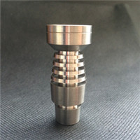 Wholesale T Domeless Titanium Nail for both mm and mm Smoking Water Pipes Glass Bong