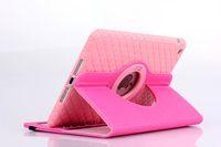 Cheap TPU cover 360 Degree Rotary Case for ipad air 2 ipad 4 3 2 mini retina 9.7 inch tablet stand Jean cloth